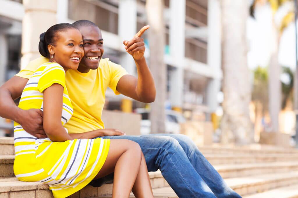 Afrikansk par