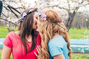 Lesbisk par