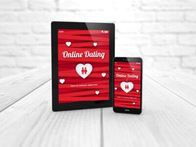 Dating app via mobil og tablet